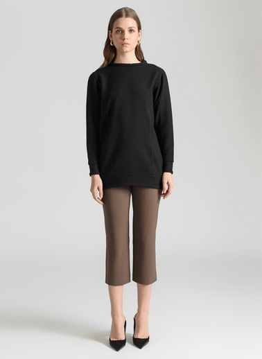 Ebru Günay Sweatshirt Siyah